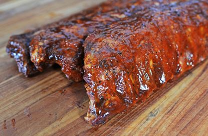 Picture of 100% Cheshire Smoked Baby Back Ribs (Full Rack)
