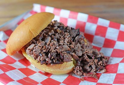 Picture of Prime Angus Chopped Brisket Sandwich