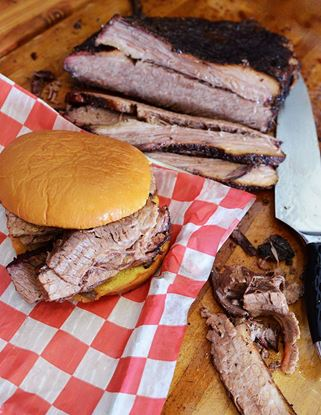 Picture of Prime Angus Sliced Brisket Sandwich