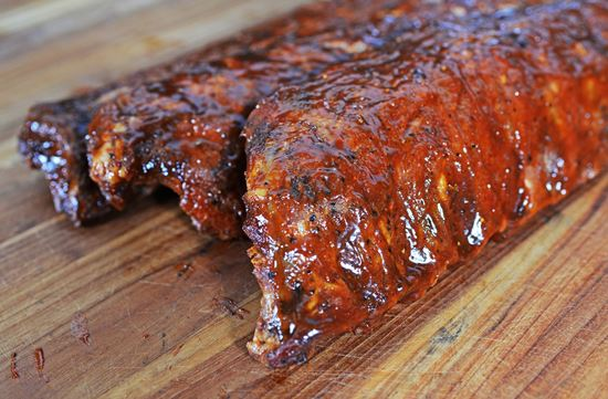 Picture of 100% Cheshire Smoked Baby Back Ribs (Half Rack)