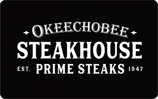 Picture of $25 Okeechobee Steakhouse Gift Card