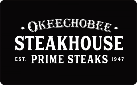 Picture of $100 Okeechobee Steakhouse Gift Card