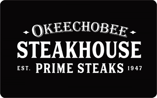 Picture of $500 Okeechobee Steakhouse Gift Card