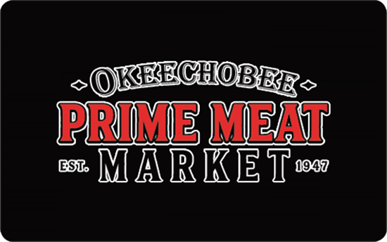 Picture of $25 Okeechobee Prime Meat Market Gift Card